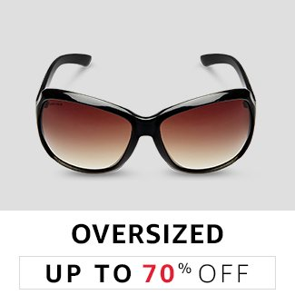 Oversized: Upto 70% Off