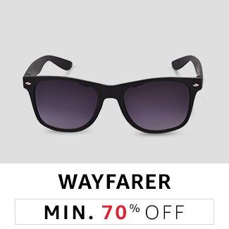 Wayfarers: Flat 70% Off