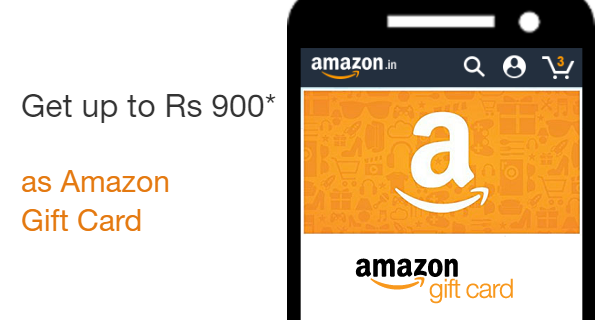 get an Amazon.in Gift Card