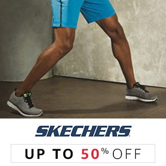 Skechers : Up to 50% off
