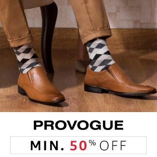 Provogue: Minimum 50% off