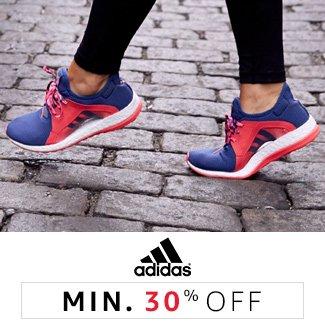 Adidas : Minimum 30%
