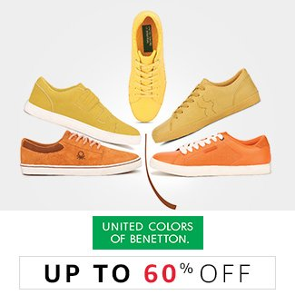 United colors of Benetton : Up to 60% off