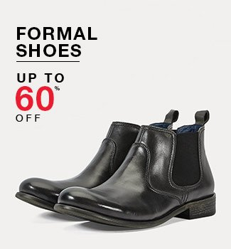Formal shoes : Up to 60% off