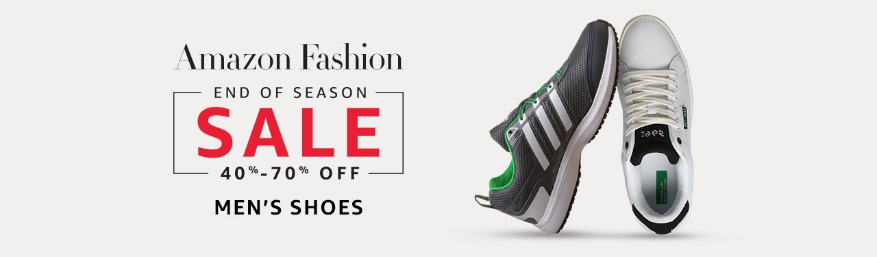 Men's shoes : 40% to 70% Off