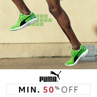 Puma: Minimum 50% off
