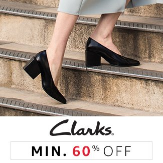 Clarks: Minimum 60% off