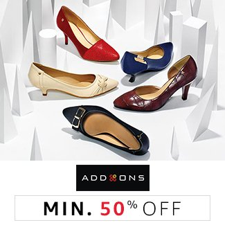 Addons: Minimum 50% off