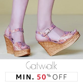 Catwalk: Minimum 50% off
