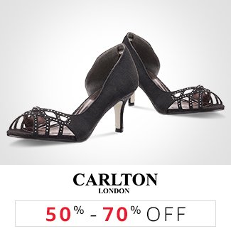 Carlton London: 50% to 70% off