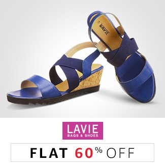 Lavie: Flat 60% off