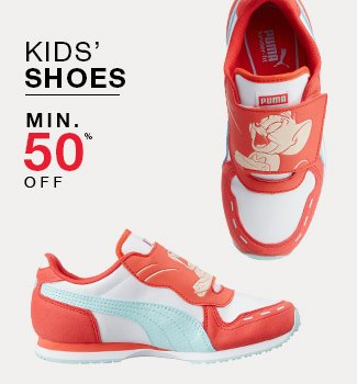 Kids' shoes : Min. 50% off