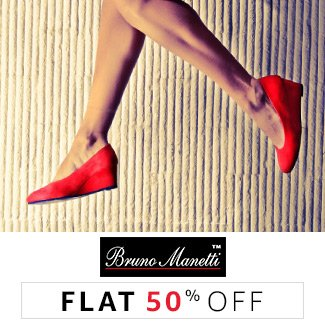 Bruno Manetti : Flat 50% off