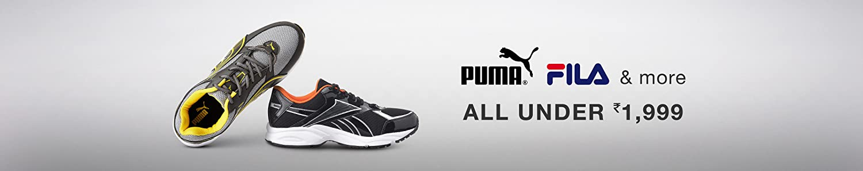 Puma, Fila & More: All under Rs. 1999