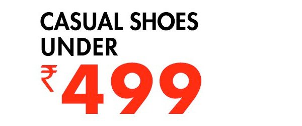 Casual Shoes under 499