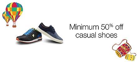 Casual Shoes: Minimum 50% off