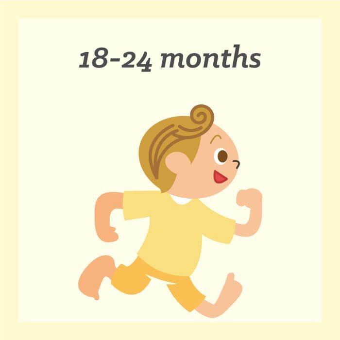 18 - 24 Months