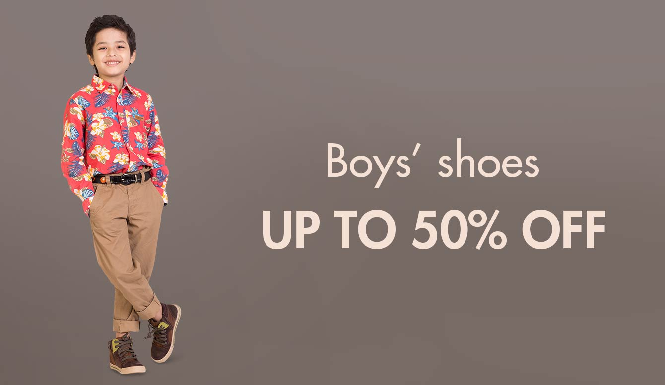 Boys' shoes - Up to 50% off