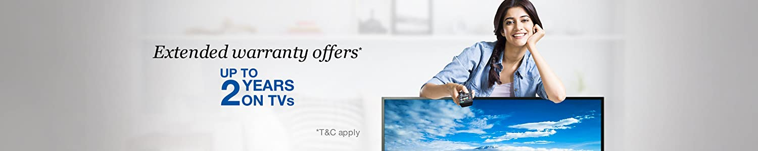 Extended Warranty Offers on TVs