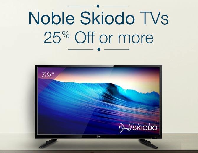 Noble Skiodo TVs