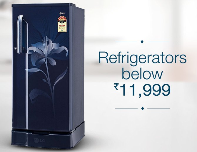Refrigerators under Rs. 11,999