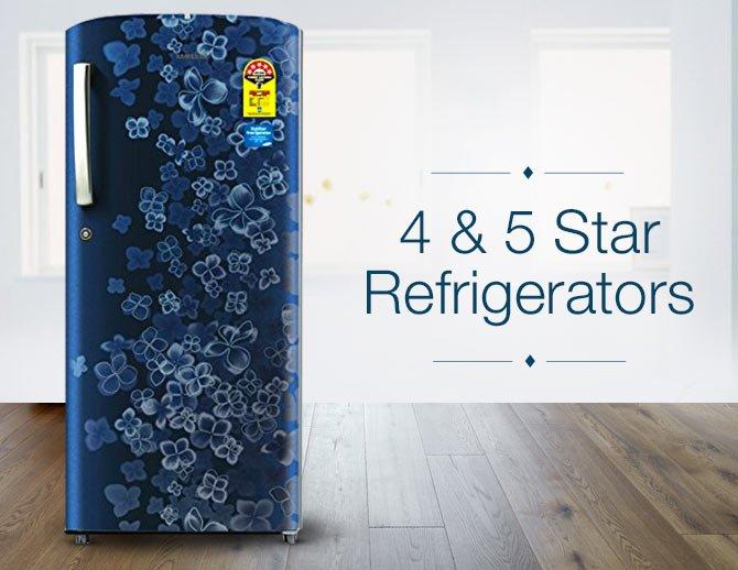 4 & 5 Refrigerators