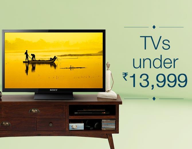 TVs under Rs. 13,999