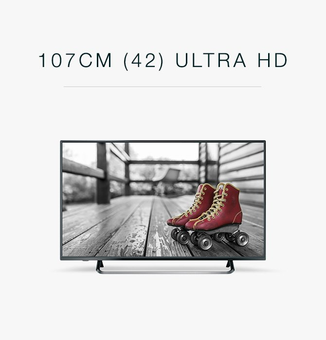 (42) Ultra HD TV
