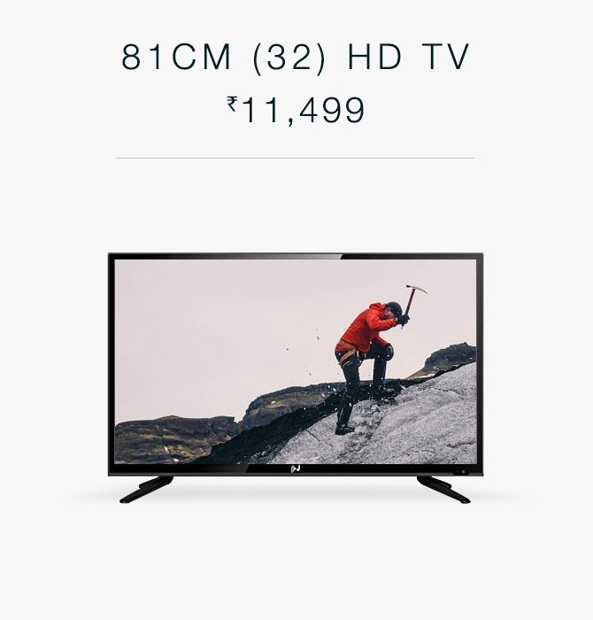 81CM (32) HD TV Rs. 11,499