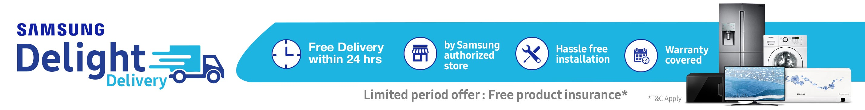 samsung delight delivery