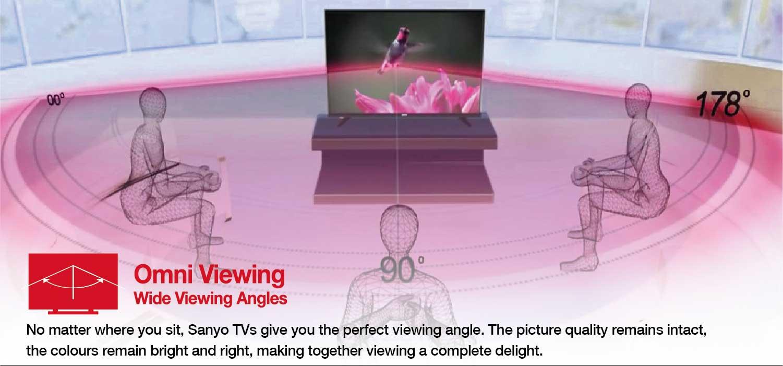 Omni viewing - Sanyo TVs