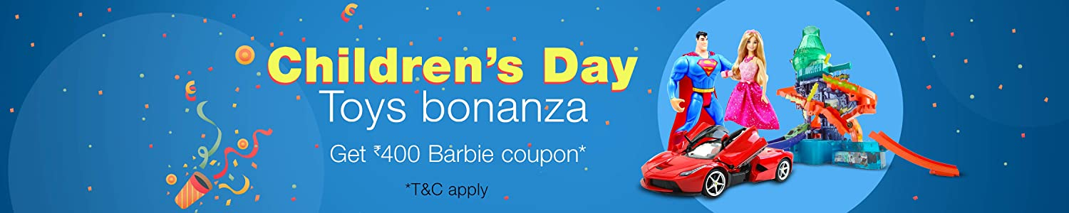 Childrens Day: Toys bonanza