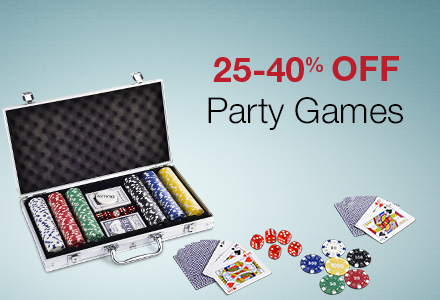 25-40% off party games