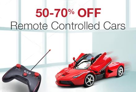 50-70% off Remote Control Cars