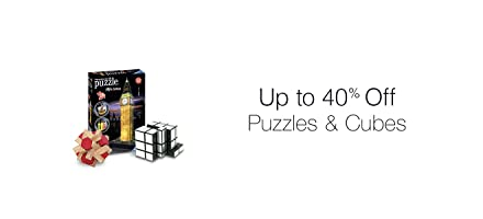 Up to 40% off Puzzles & Cubes