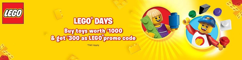 Lego Days - Shop toys and get rewarded