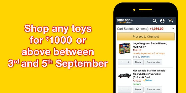 Shop toys for INR 1000 or above
