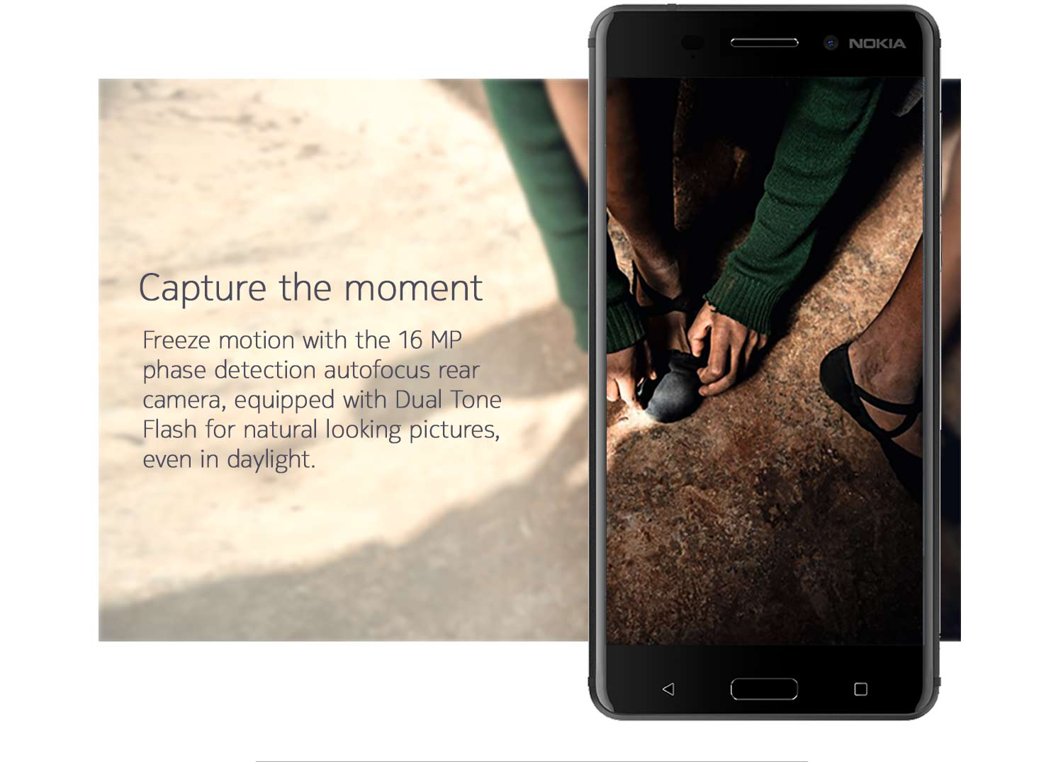 Capture the moment with the 16MP camera