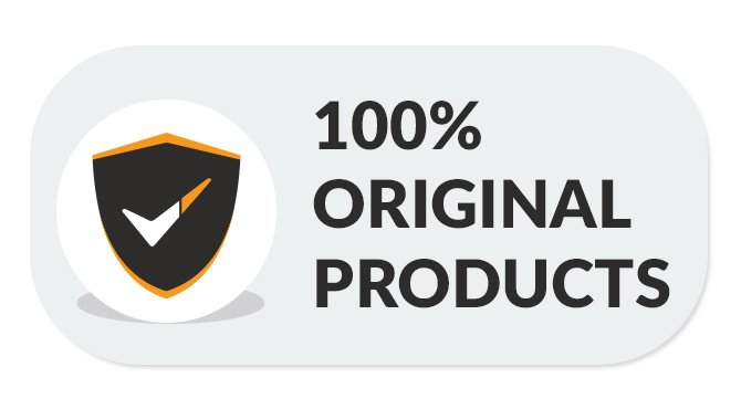100% original products