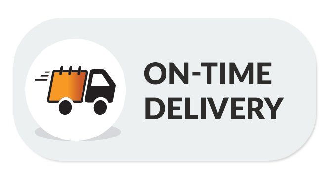 On-time delivery