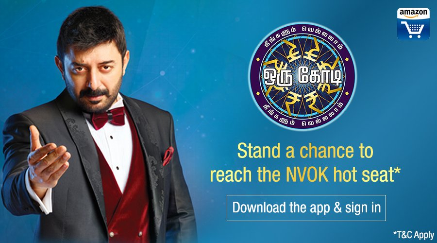 Amazon Vijay TV NVOK