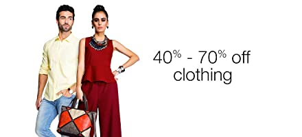 Clothing 40% - 70% off