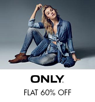 Only - Flat 60% off