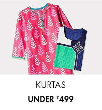 Kurtas - Under Rs. 499