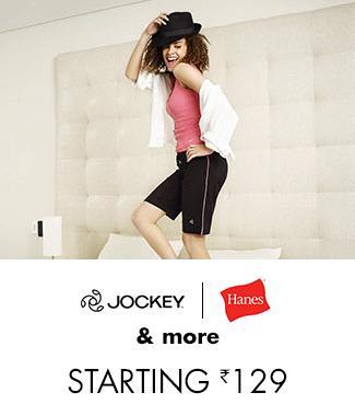 Jockey, Hanes & more