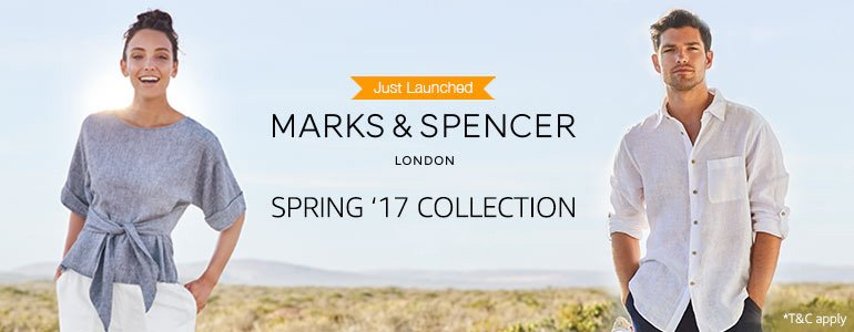 Marks and spencer online shopping india