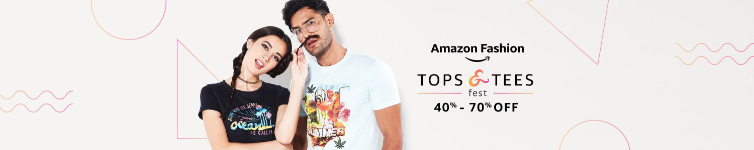 Tops & tees fest | 40% - 70% off