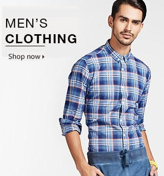 Mens Fashion. For all the latest in men's fashion, you've come to the right place. EziBuy's extensive range of men's clothing has everything you need to fit out your wardrobe.