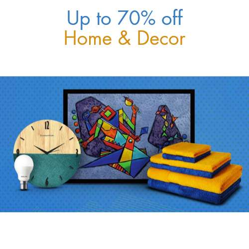 Great indian sale upto 70 off on home kitchen for Home decor 70 off
