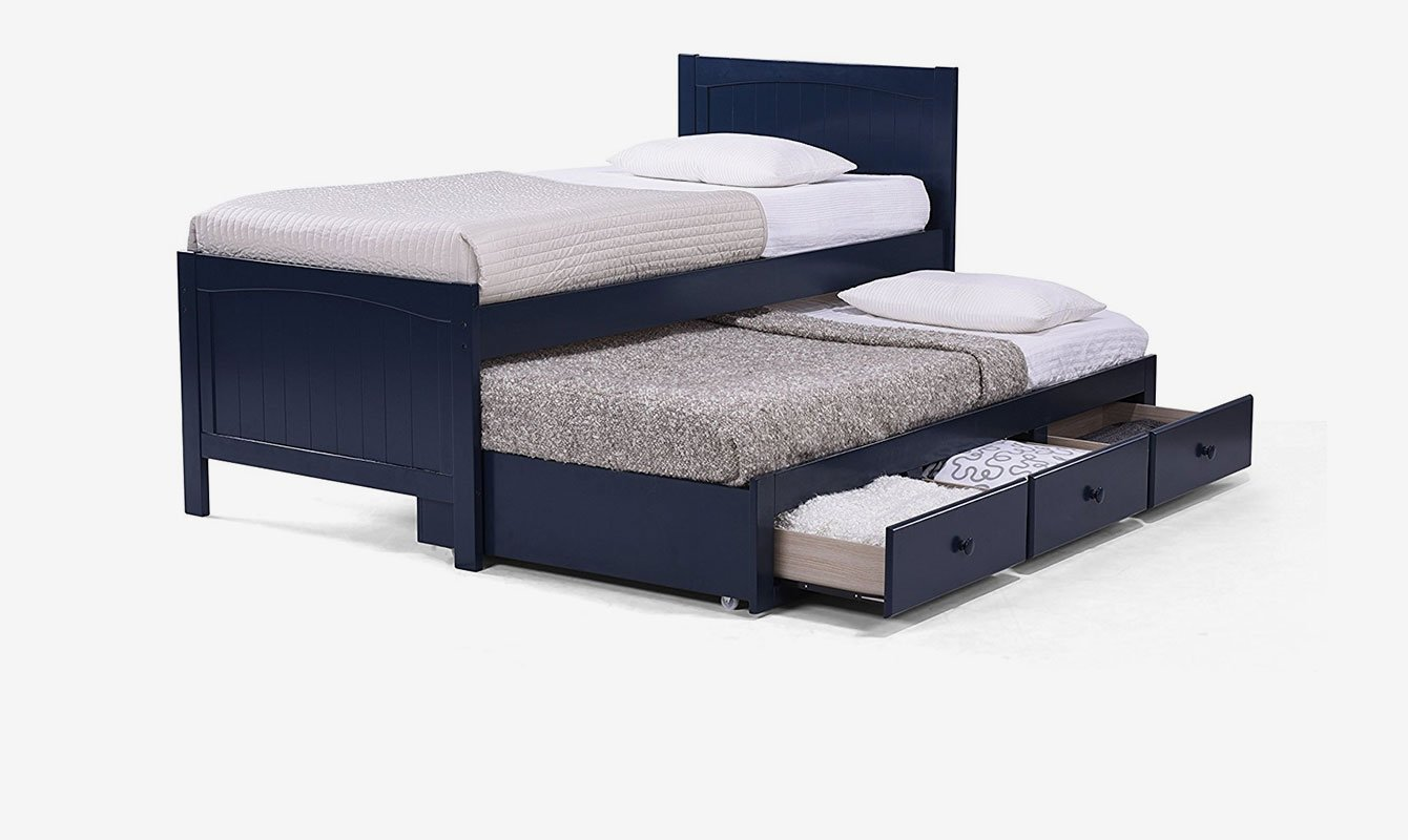 King Size Bunk Beds Trundle